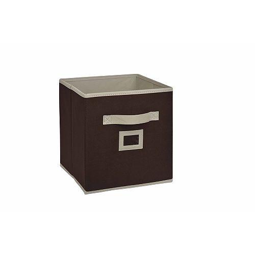 THD Generic Cube tiroir en tissu, 101/2po, brun