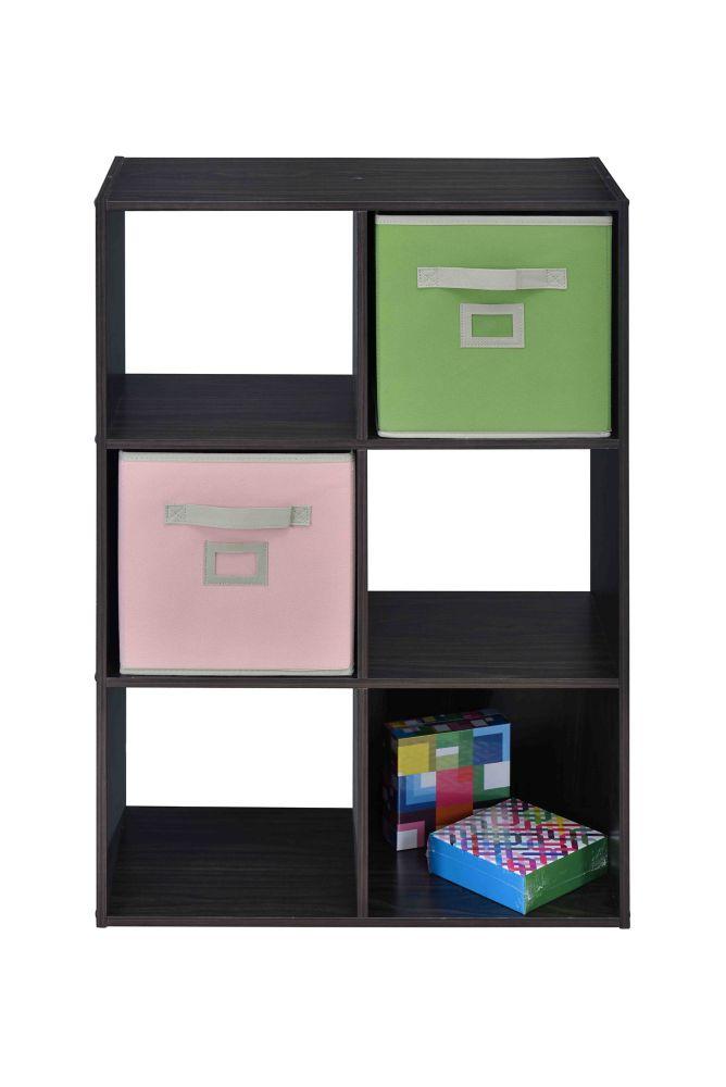 6 Cube Storage in Espresso
