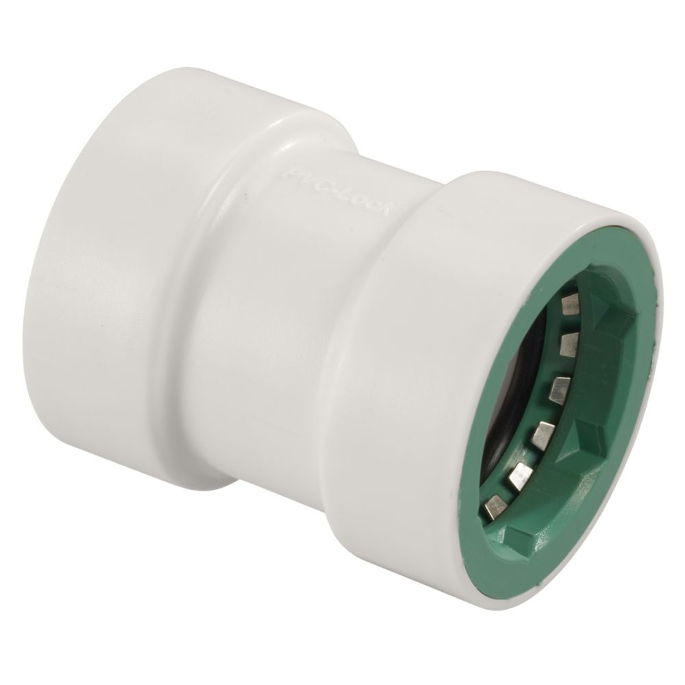 1/2 Inch   PVC-Lock Coupling