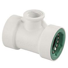 1-inch PVC-Lock x 1/2-inch FPT Tee