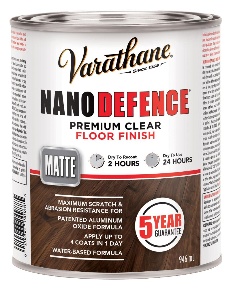 Varathane Nano Floor Wb Matte 946ml