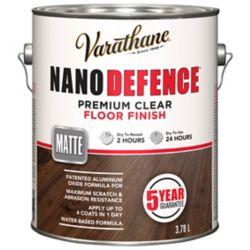 Varathane Nano Floor Wb Matte 3.78l