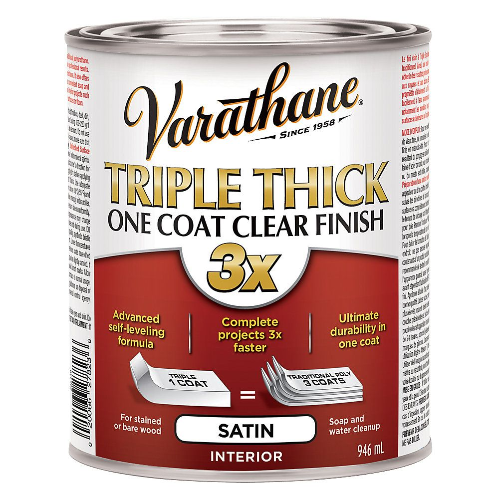 Triple Thick Clear Sat 946ml