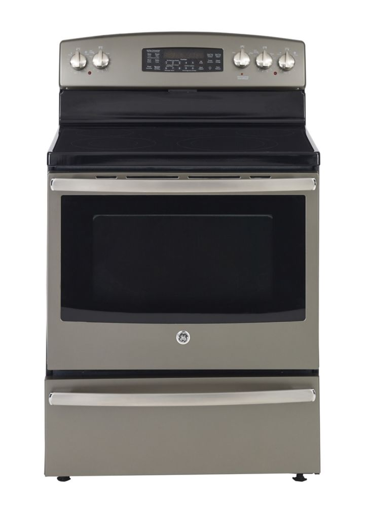 Electric Kitchen Stoves At Home Depot ~ General electric slate in free standing self