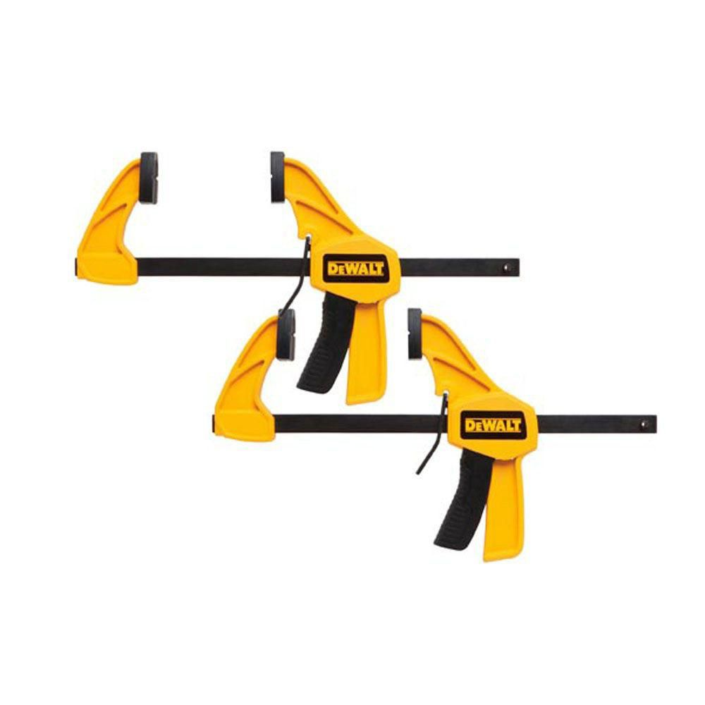 DEWALT 6-Inch. Medium Trigger Clamp (2-Pack)
