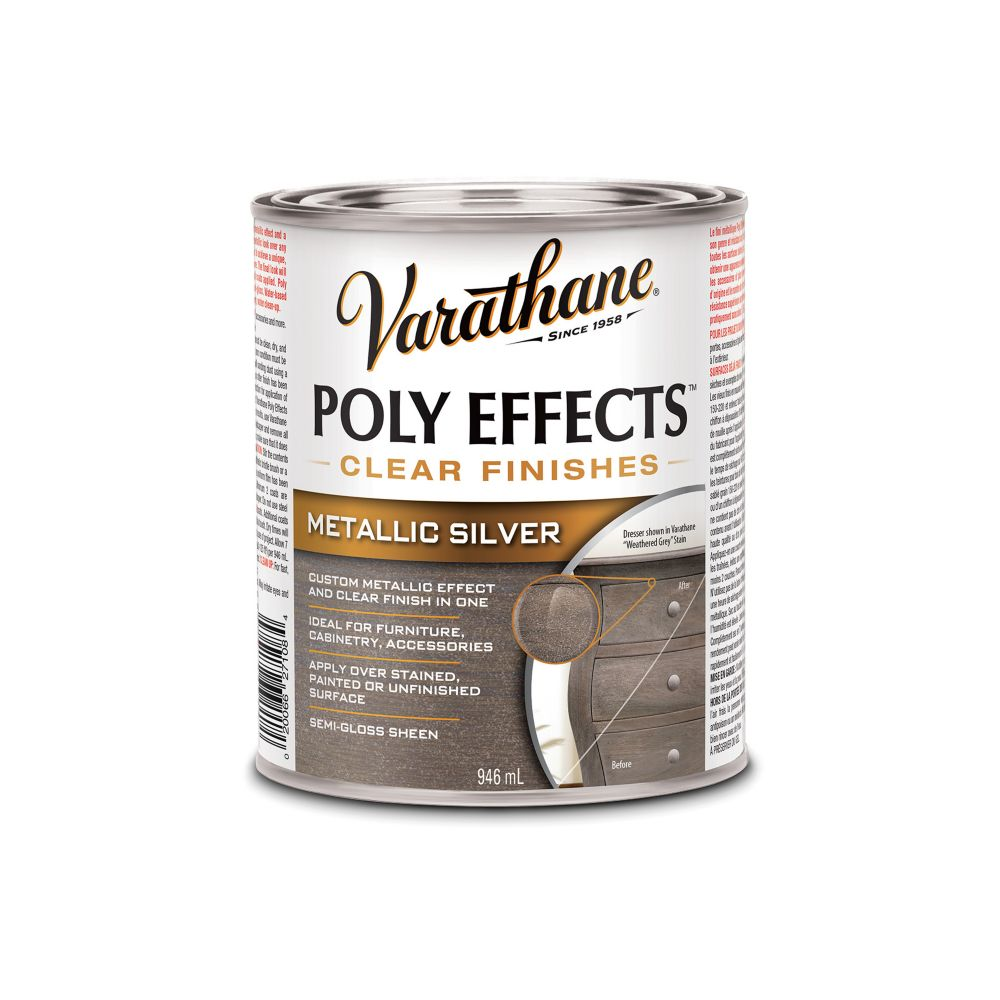 Varathane Poly Effects Silver 946ml