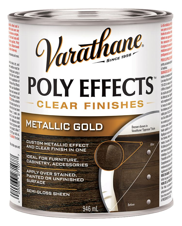 Varathane Poly Effects Gold 946ml