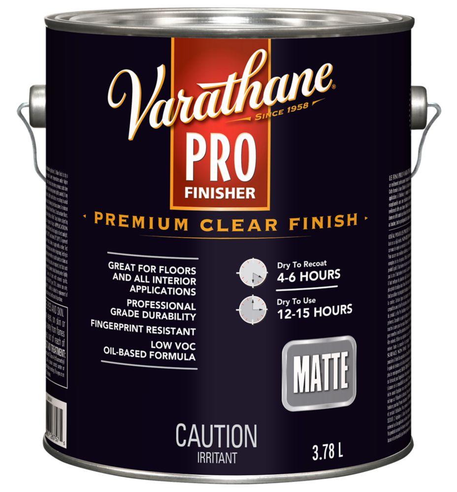 VARATHANE FINI PRO 350 MATTE 3.78L