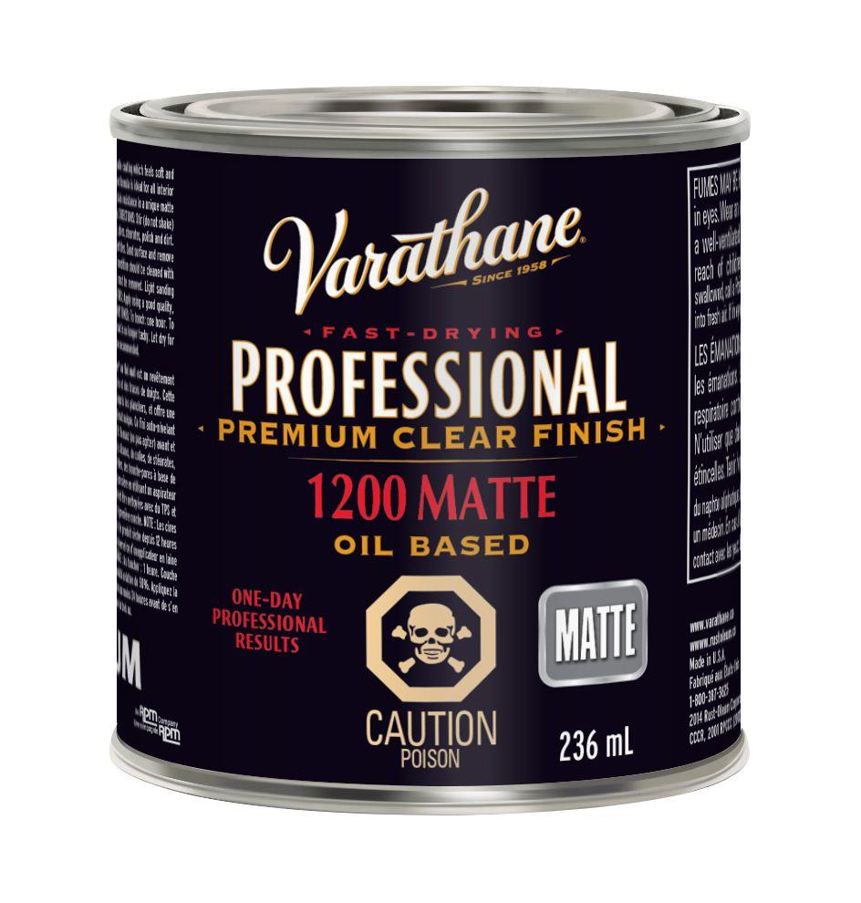 VARATHANE PRO HUILE MATTE 236ML