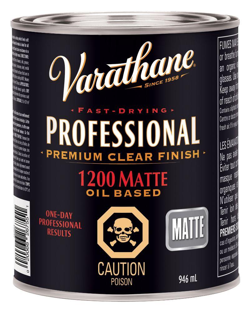 VARATHANE PRO HUILE MATTE 946ML