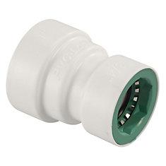 1-inch x 3/4-inch PVC-Lock Reducer Coupling