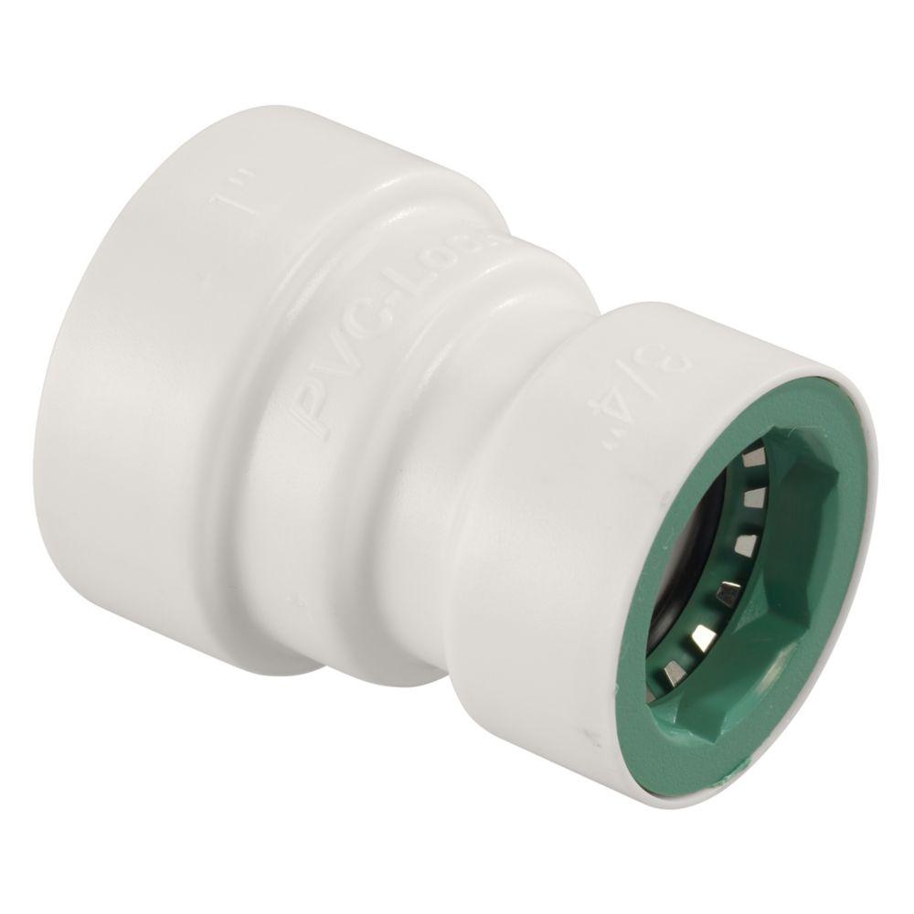 """1"""" x 3/4"""" PVC-Lock Reducer Coupling"""