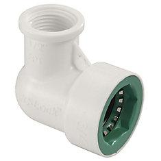 3/4-inch x 1/2-inch FPT PVC-Lock Elbow