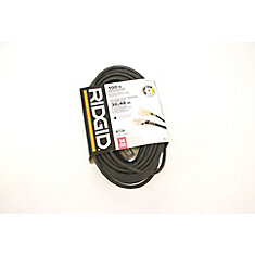 OUTDOOR EXTENSION CORD 14 GA. 100FT SINGLE LITED END