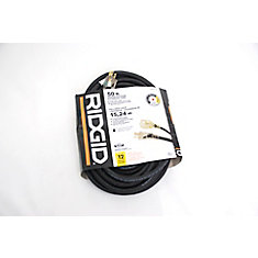 OUTDOOR EXTENSION CORD 12 GA. 50FT SINGLE LITED END