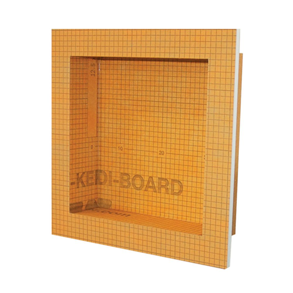 Kerdi-Board-SN 12 in. x 12 in. Shower Niche
