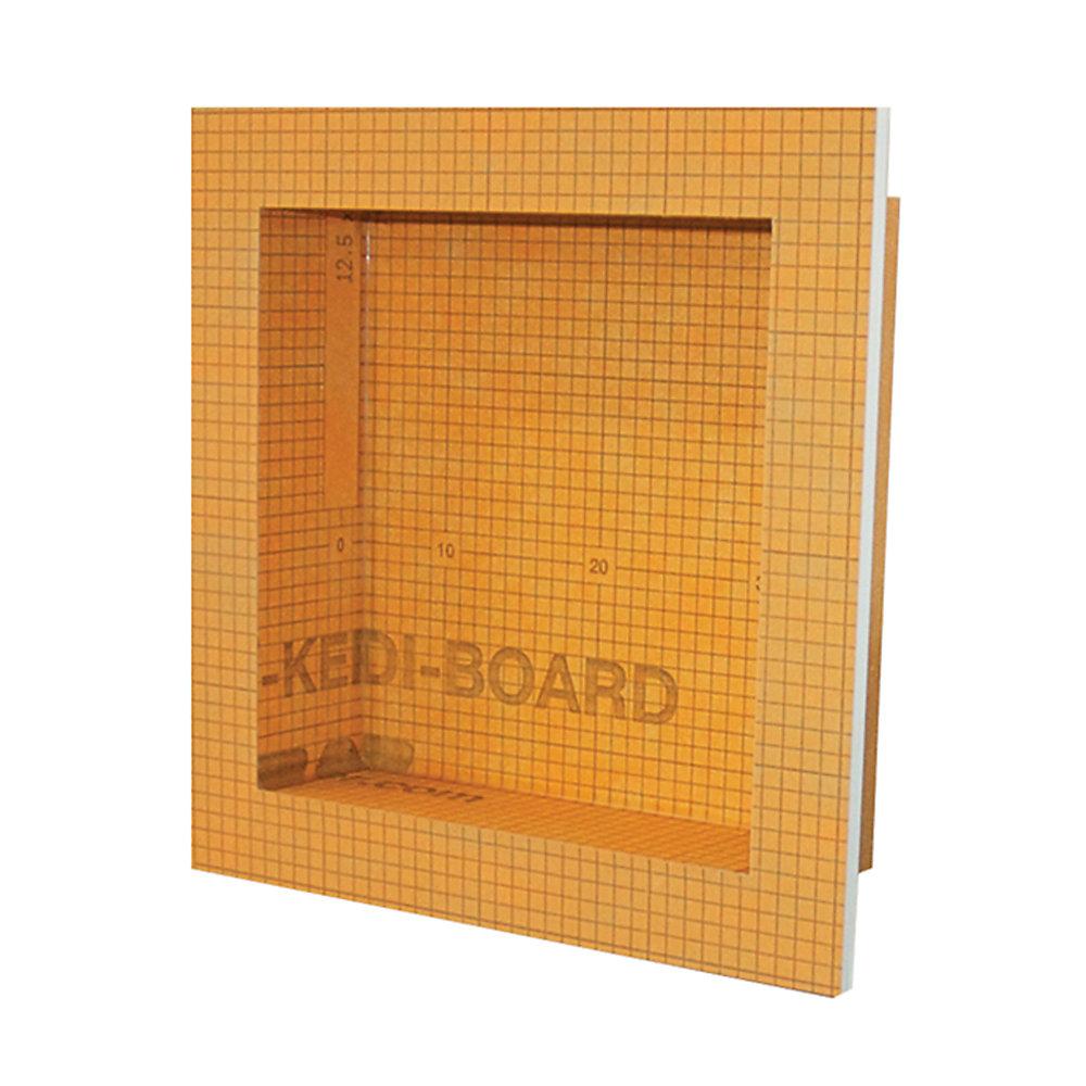 Kerdi-Board-SN 12 in. x 12 in. Shower Niche