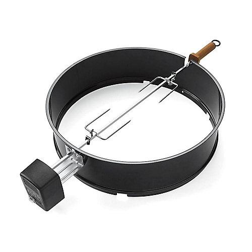 Rôtissoire pour barbecue au charbon