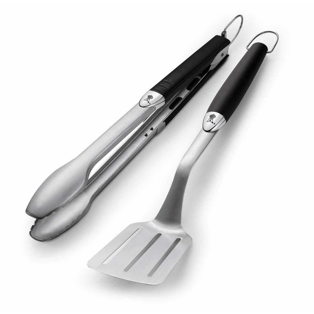 Stainless Steel Two-Piece Barbecue Tool Set