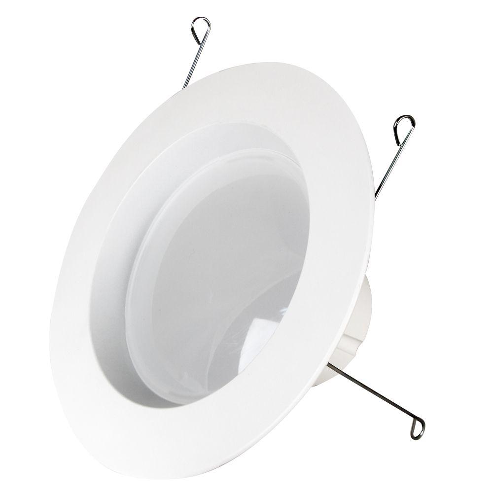 Équivalant à une ampoule de 75W blanc chaud de 12/15cm (5/6po) Ensemble de modernisation à DEL ...