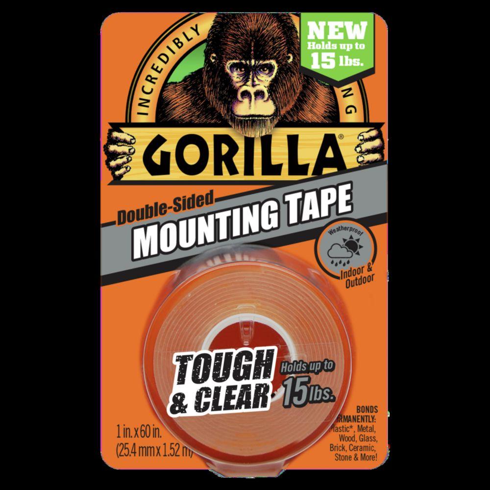 Gorilla Glue Tough & Clear Mounting Tape