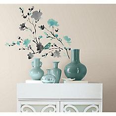 Blossom Watercolour Peel U0026 Stick Wall Decals Part 81