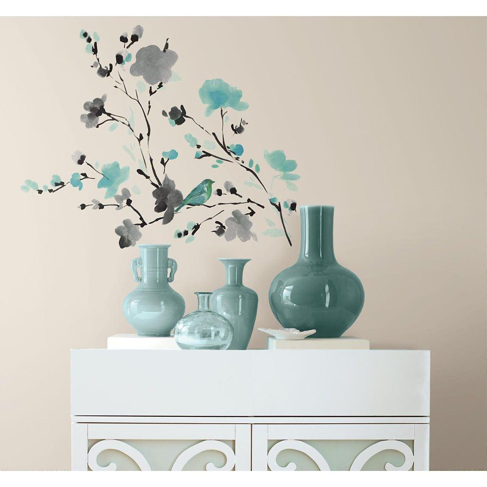 "Stickers Muraux ""Blossom Watercolor"""