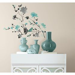 RoomMates Blossom Watercolour Peel & Stick Wall Decals