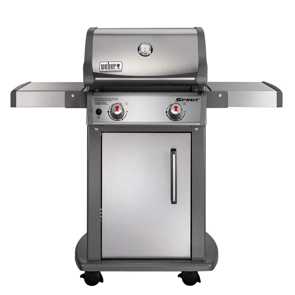 Spirit<sup>®</sup> S-210� LP Gas BBQ in Stainless Steel