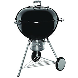 Weber Original Kettle 26-inch Premium Charcoal BBQ in Black
