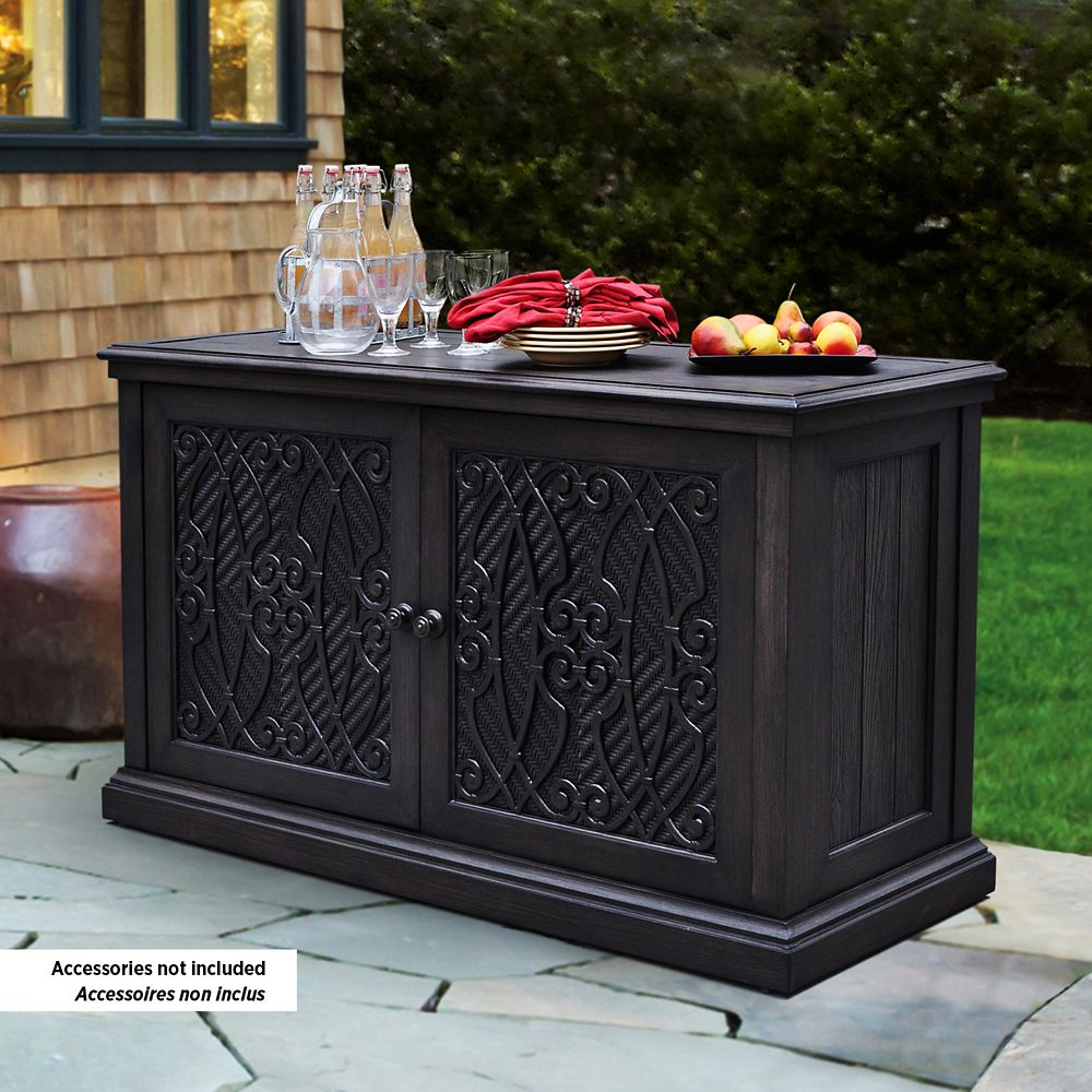 St. Tropez Outdoor Storage Cabinet