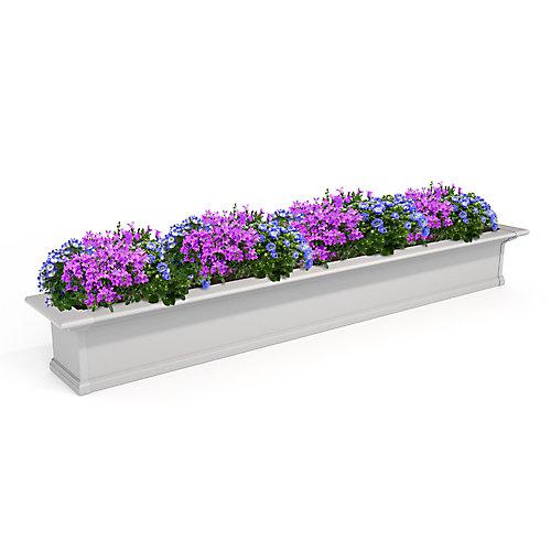 Jardinière pour fenêtre Yorkshire 2 m blanche « AR »