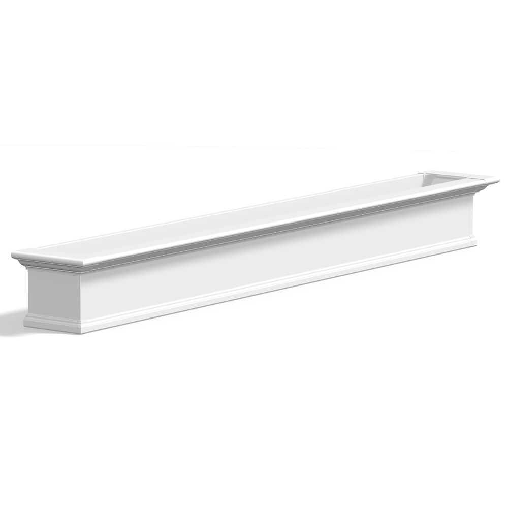 "Yorkshire Window Box 8FT White ""KD"" 8828-W Canada Discount"