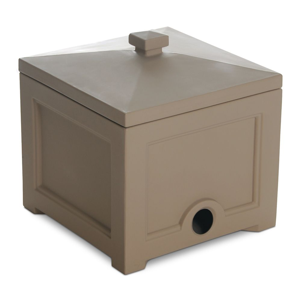 Fairfield Garden Hose Bin Clay