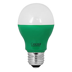 Feit LED 40w A19 Green Non-Dimmable