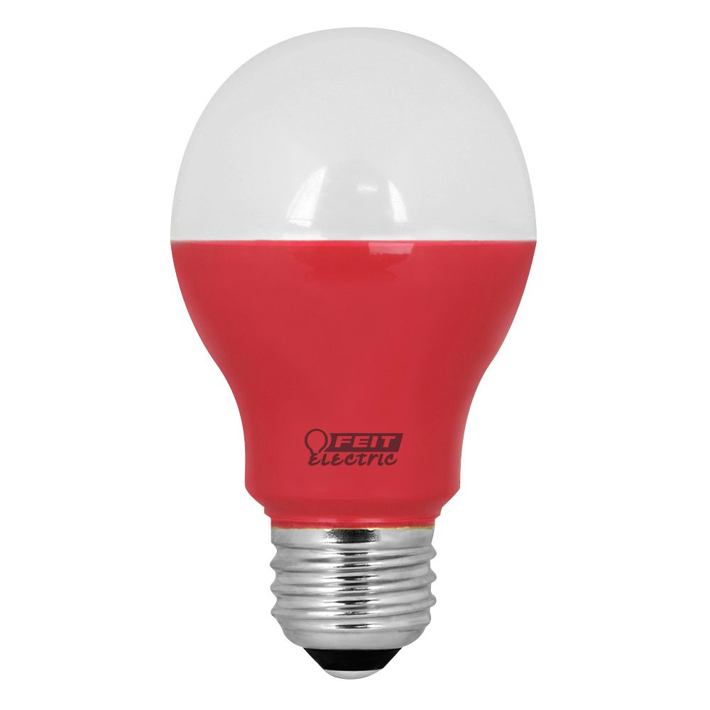 LED 40w A19 Red Nondim A19/R/LED/CAN in Canada
