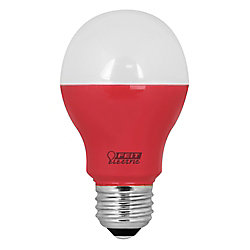 Feit LED 40w A19 Red Non-Dimmable