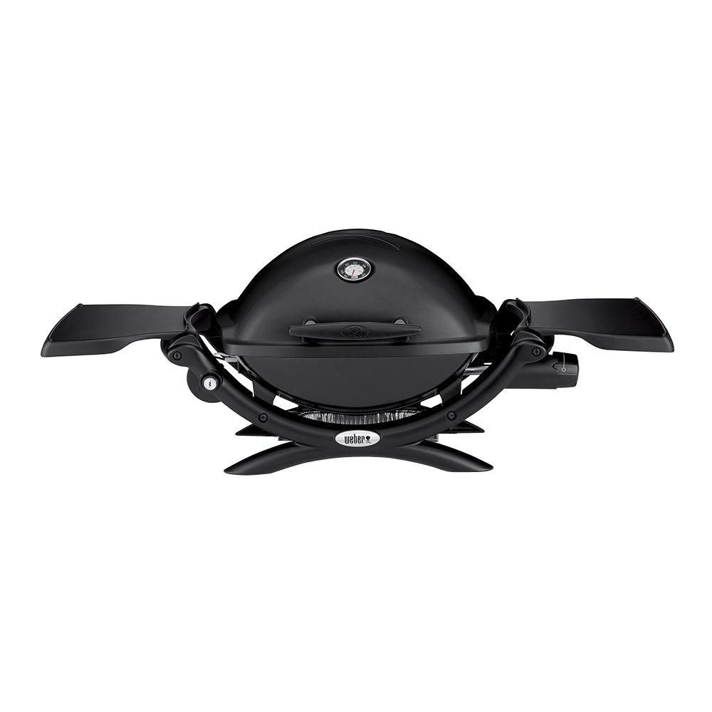 Barbecue au gaz Q 1200 - Noir