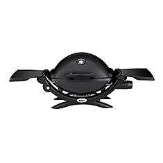 Q 1200 Portable Liquid Propane BBQ in Black