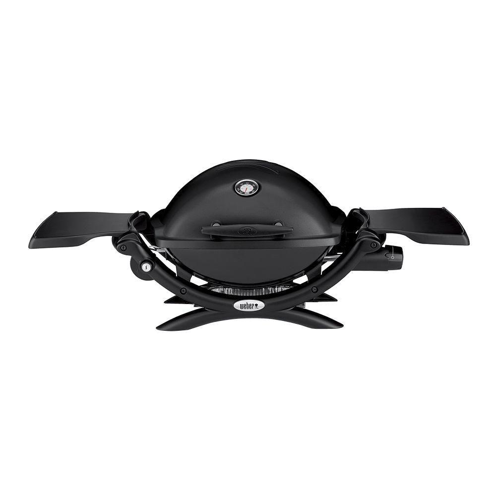 Barbecue portatif au propane Q 1200, noir