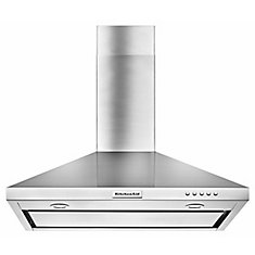 30-inch, 400 CFM Canopy Range Hood in Stainless Steel