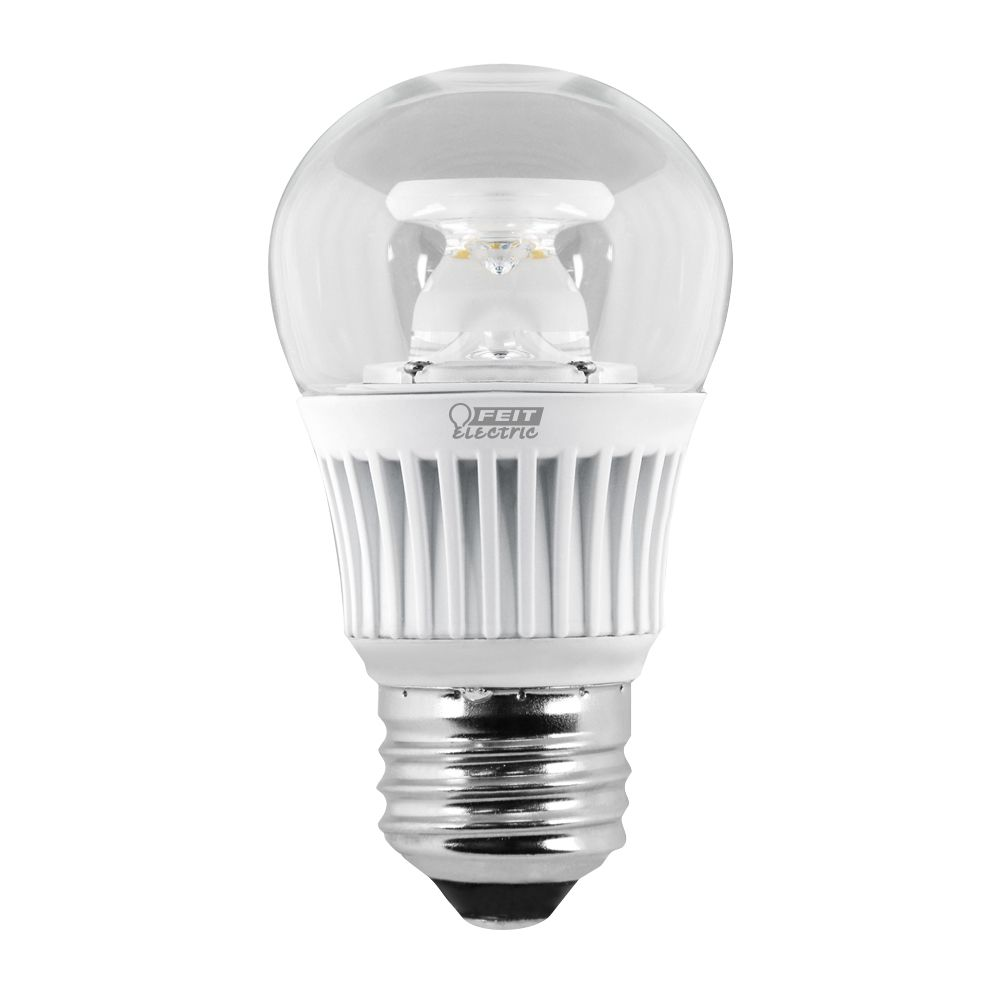 LED 60w Med Base Flame Tip Ecosmrt