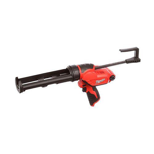 Milwaukee Tool M12 12V Lithium-Ion Cordless 10 oz. Caulk and Adhesive Gun (Tool Only)