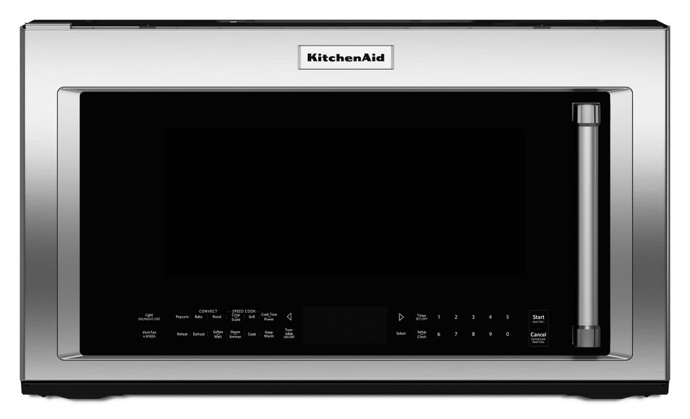 KitchenAid 30-inch 1.9 cu.ft. Over the Range Convection Microwave in Stainless Steel with Sensor Cooking