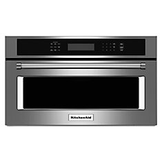 1.4 cu. ft.Built-In Microwave Oven with Convection Cooking in Stainless Steel
