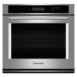 KitchenAid 27-Inch Single Electric Wall Oven in Stainless Steel