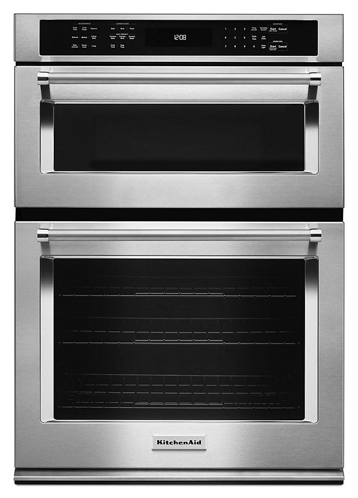 Kitchenaid 30 Inch 5 0 Cu Ft Double Electric Wall Oven