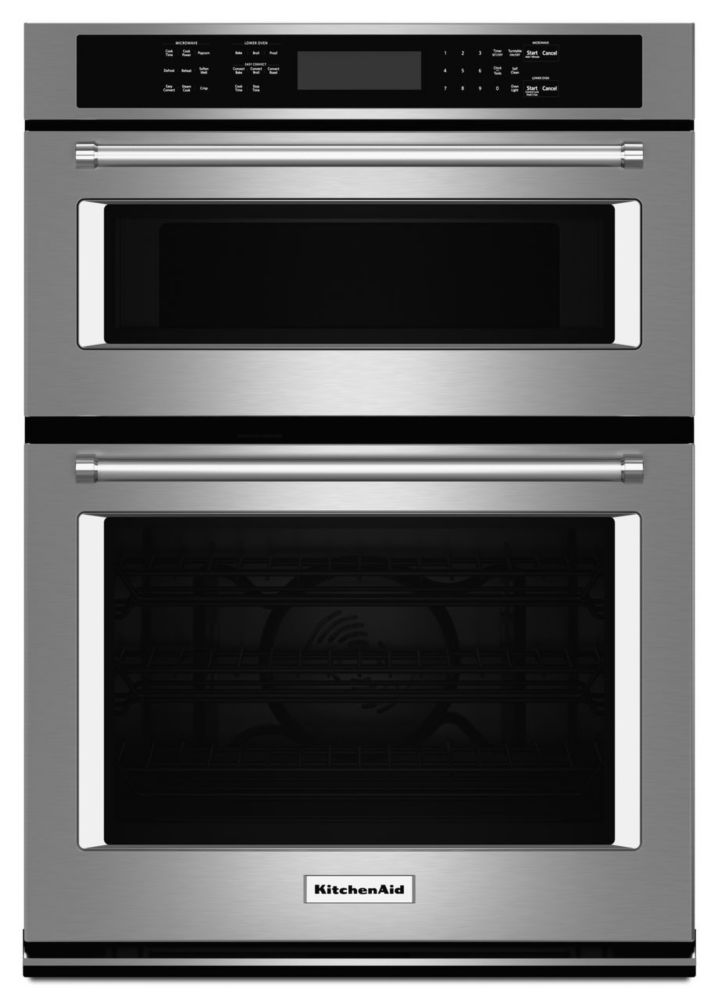 4.3 cu. ft. Combination Electric Wall Oven with Even-Heat� True Convection in Stainless Steel