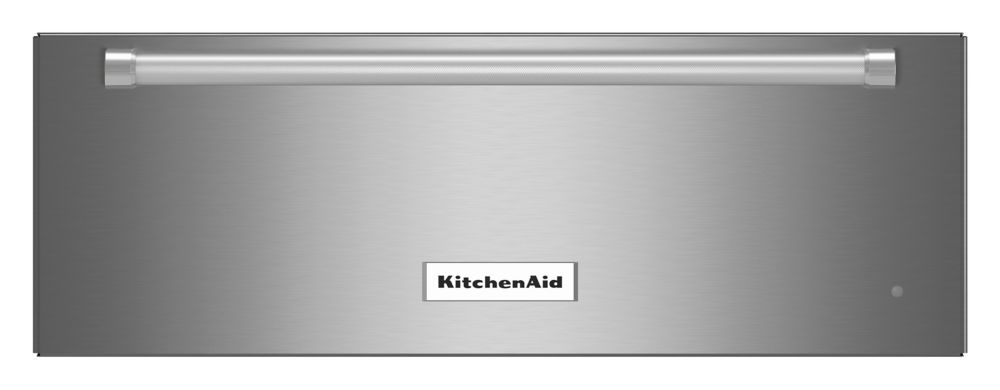 KitchenAid 27 In. Slow Cook Warming Drawer, Stainless Steel - KOWT107ESS