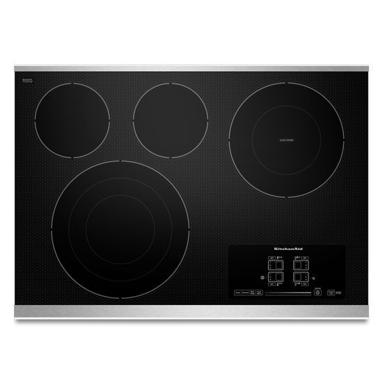 Architect Series II 31-inch Electric Cooktop with Four Elements in Stainless Steel
